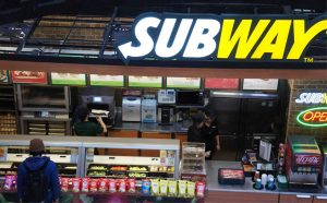 Subway has teh most locations around the world